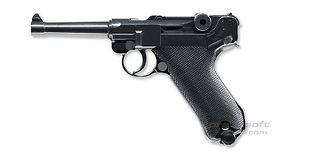 Umarex Parabellum P.08 CO2 pistooli, metalli