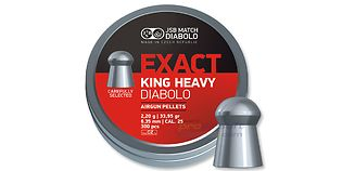 JSB Exact King Heavy 6.35mm 2.20g 150kpl