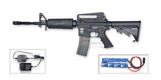 G&G CM16 Carbine sähköase, musta