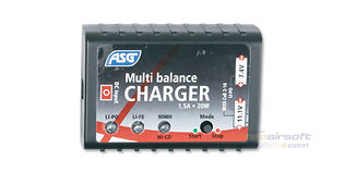 ASG LiPo/LiFe/NiMH/NiCd automaattilaturi