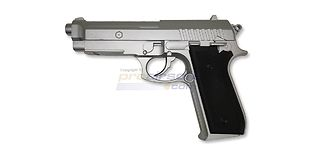 Cybergun Taurus PT92 CO2 pistooli, metalli hopea