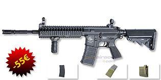 ASG M15 Ranger sähköase (Mosfet) paketti, musta