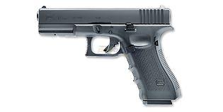 Umarex Glock 17 Gen4 4.5mm CO2, metalli