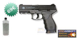 Cybergun Taurus PT 24/7 Special Edition CO2 pistooli + kuulapurkki
