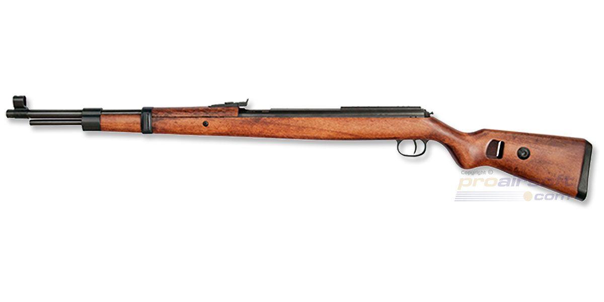 ASG Mauser K98 4.5mm puutukki - ProAirsoft - Suomen johtava airsoftliike