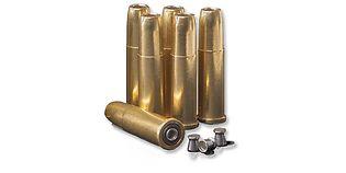 Crosman Remington M1875 hylsy 4,5mm luodeille, 6kpl