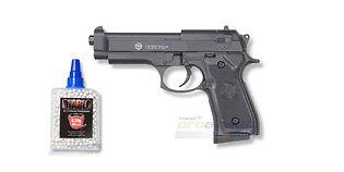 Cybergun Taurus PT92 jousipistooli, metalli