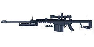 Cybergun M82 Barrett .50 mini guns collection