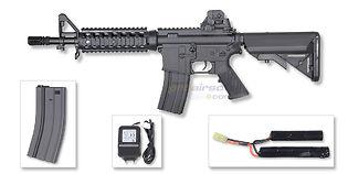 Cybergun COLT M4 CQB sähköase, kuiturunko