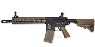 ASG M15 Assault sähköase (Mosfet), metalli hiekka
