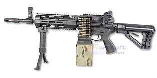 G&G CM16 LMG konekivääri (Mosfet), musta