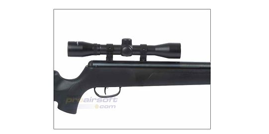 Crosman Phantom NP 5.5mm kiikarilla