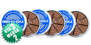 3x Scho-Ka-Kola maitosuklaa