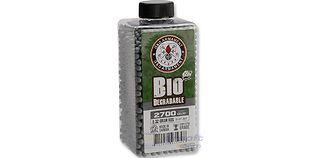 G&G biokuulat 0,32g 2700kpl, harmaa