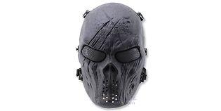 Diablo Alien maski, musta