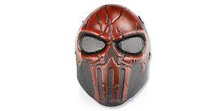 Diablo Chastener maski, punainen