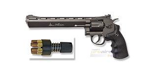 """ASG Dan Wesson CO2 revolveri 8"""", musta"""