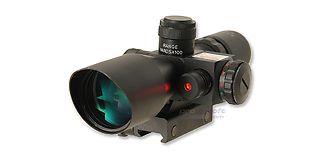 Kiikaritähtäin laserilla 2.5-10x40, valaistu