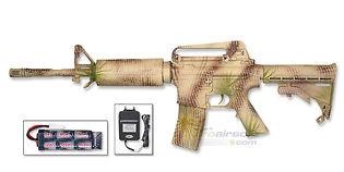 ASG M15A4 sähköase, hiekka camo