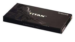 GATE Titan V2 Complete setti, johdotus eteen